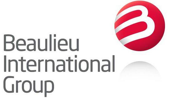 Het logo van Beaulieu International Group.