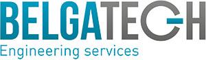 Het logo van BELGATECH Engineering Services.