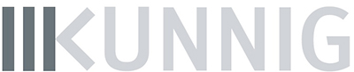 Het logo van Kunnig.