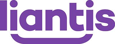 Het logo van Liantis.